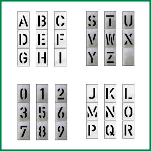 Buchstaben- und Zahlensätze