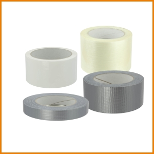 Gewebeband, Filamentband und Doppelseitiges Klebeband